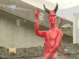 9 Foot Satan Statue Erected In Vancouver