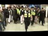ISLAM NEW ARRIVALS BIRMINGHAM INTERNATIONAL AIRPORT ENGLAND UK