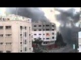 Israeli Airforce Destroys Gaza 14 Story Building
