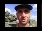 Chechen Fighters With T72 Tanks Defending Novorossia From European Fascism Allah Akbar'
