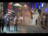 Rioters Night Time Clashes With Police In Ankara