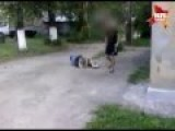 Russia: Kid Vs. Granny - Brutal Knockout