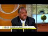 Carson Defends Shooting Comments: 'I Want To Plant In People's Minds What To Do'