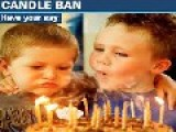 Australia Bans Candles On Childrens Birthday Cake