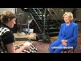 Hillary Clinton & Lena Dunham Discuss Lenny Kravitz's Wang