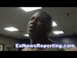 James Toney : I Can't Understand A Word