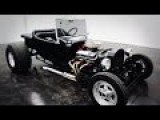 1923 Ford T Bucket Hot Rod Roadster Black - Classic Car HD