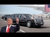 President Trump's Car: New 'Cadillac One' To Be Rolled Out For The Donald's Inauguration
