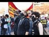 Raw Footage: Anti-Fascist Protesters Versus NPI