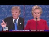 'I Think I Did A Good Job': Trump Defends Birther Past, Clinton Pounces