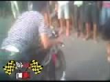 Illegal Motorcycle Drag Racing Kawasaki Ninja Vs. Five Artha