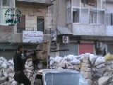 Aleppo Sniper Nest Targeted By Mounted Machine Gun