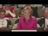 Hillary Insults Obama At The Al Smith 2016 Dinner