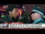 BLM Protester Staring Down Cop