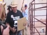 Audio Recording Between BLM And Pete Santilli Also A Better Video Of The Stand Off Under The Bridge And The Cattle