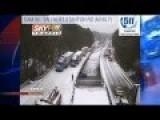 Atlanta Traffic In The Snow