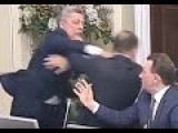 Another Day, Another Fight: Punches Fly During Lyashko Speech In Ukraine Parliament