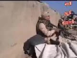 A Group Of Iraqi Soldiers Trapped On The Surface Of Beniah By Heavy Machine Gun Fire And Snipers