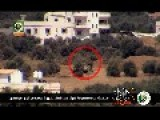 Al-Qassam Brigades Targeted Today An Israeli Tank By Guided Missile