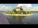 An Island Made From Plastic Bottles