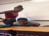 African American Student Gets Beat Up By A Girl