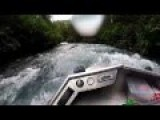 Alaska Mini Jet Boat Upstream River Run