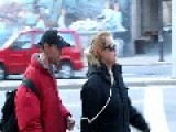 A Woman On A Leash Downtown Toronto....WTF