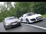 AUDI R8 VS BMW M6 In Highway