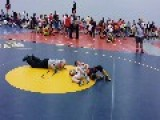 Angry Dad Charges Mat @ Youth Wrestling Event