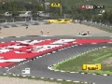 Accident At Barcelona Grand Prix
