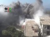 An Assadist Terror Raider Attacks Salma Nov 19th, '13
