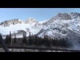 Avalanche Control Along Alaskan Highway