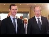 Assad Legitimate President Of Syria: Lavrov