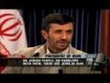 Ahmadinejad On Palestine - Larry King