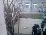 A Gang Of Russian Agent Provocateurs Force Their Way In The Regional Government Facility: Donetsk March 3rd,'14