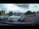 Accident Because Of The Women In Novorossiysk 07 05 2014