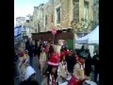 Arab-Christians Parade Through Haifa For Christmas Waving Israel And Vatican Flags