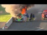 ANDRA Drag Racing - Anthony Begley Nitro Funny Car Fire