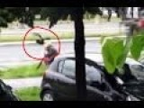 Angry Birds Attack People In Belgrade