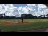American Hero Tim Tebow Hits Homerun In First At Bat!! + Passion Of Tebow Story
