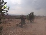 A Syrian Sunni Arab Citizen Tank Hunter Stops An Assad Regime BMP In Its Tracks, With A TOW ATGM Oct 17th,