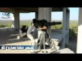 ATGM Destroys Assadist Tank In Morek TOW