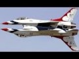 A Day With The Most Talented US Stunt Pilots: US Air Force Thunderbirds