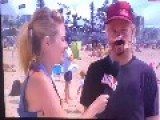 Aussie TV Host Calls Out Dude On Live TV