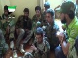 Assadist Gunmen Look Somewhat Underwhelmed To Have Been Captured By Syrian Sunni Arab Citizen Soldiers: Tal Jumu