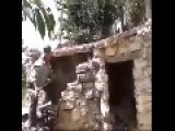 Arab Guy Tries To Demolish An Old Building With A Sledgehammer
