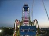 Afraid Of Heights? - Double Ferris Wheel - *Puke Warning Issued To The Wimps*