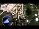 A B-1 Bomber's General Electric F101-GE-102 Engine Runs At Full Afterburner