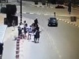 Arab Runs Over Folks At Bus Stop In Gush Etzion