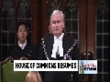 A REAL Hero, Sergeant-at-Arms Kevin Vickers , Standing Ovation From Canadian Parliament